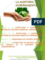 Anexos de La Auditoria Ambiental Gubernamental
