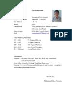 Curriculum Vitae Riza