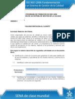 Actividad de Aprendizaje Unidad 4 Calidad Enfocada Al Cliente (Autoguardado)