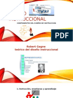 Diapositivas  diseño de instruccion
