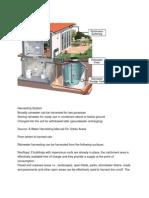 Rain Water-Harvesting System