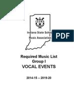 ISSMA List 2014-2020