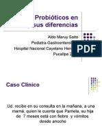 Diarrea y Probióticos en El Perú Pucallpa