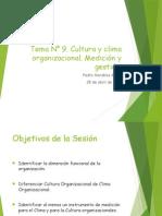 9. Cultura y Clima Organizacional
