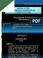 NORMA G.050 SEGURIDAD DURANTE LA CONSTRUCCIO0N.pptx