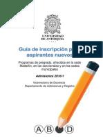 Guia Inscripcion UdeA