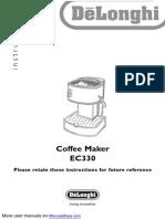 EC330 Coffee Maker
