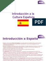 Introducción a La Cultura Española