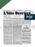 1887 11 12 L'Idée Ouvrière