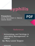 Syphilis(is)