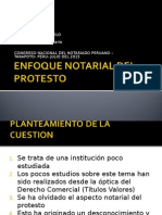 El Protesto Notarial