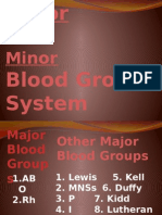 Blood Groups(BB)