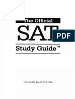Sat pdf guide official study the
