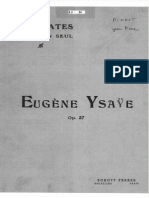 Eugène Ysaÿe - 6 Sonates for Violin