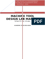 Machine Tool Design Lab Manual (1)