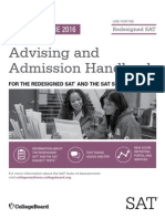 Sat Advising and Admission Handbook 2015 16