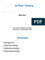 20061202 New Data Flow Testing
