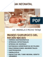 Cirugia Neonatal