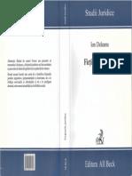 Ficţiuni Juridice - I.deleanu