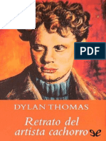 dylan thomas retrato