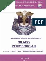 silabo periodoncia 2015