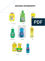 Dishwashing Det DISHWASHING DETERGENTSergents