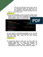 Text Organische Chemie PP