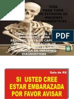 GUIA PARA TOMA DE ESTUDIOS RX CONVENCIONAL