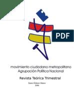Revista Teórica Trimestral