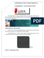 Surgical Mesh Manufacturers