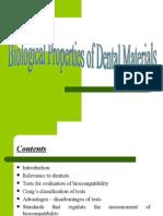 Biocompatibility of DM