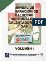 Manual de Reparación de Calderas Industriales y Calentadores a Gas. CONAIF. Vol. I