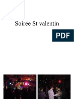 Soirée St valentin