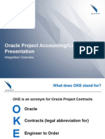 Oracle Project Contracts