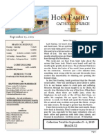 church bulletin for 9-13-2015