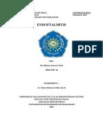laporan kasus endoftalmitis