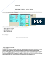 Calcualte Number of Lighting Fixtures & Lux Level _ Electrical Notes & Articles