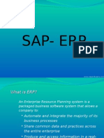 intro to sap