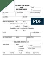 NAP Form No. 12