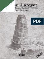 Carl Schmitt - Siyasal İlahiyat(ClearScan)