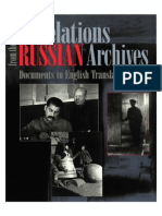 Revelations From the Russian Archives