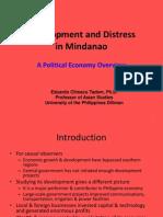 03 Development and Distress in Mindanao - Dr. Eduardo C. Tadem