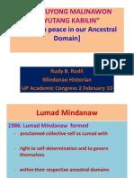 03 Magpuyong Malinawon - Prof. Rudy B. Rodil