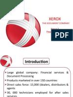 Xerox supply chain