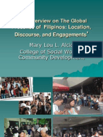 06 an Overview on the Global Presence of Filipinos - Prof. Mary Lou L. Alcid