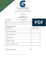 Borang Penilaian Tugasan Waj3073