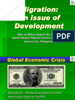 06 Migration -- An Issue of Development - Ms. Maria Angela C. Villalba