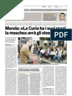 il Bologna 12-09-07 Merola - la curia ha i suoi spazi la moschea avrà gli stessi diritti