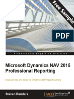 Microsoft Dynamics NAV 2015 Professional Reporting - Sample Chapter