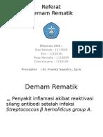 Referat Rematik Fever